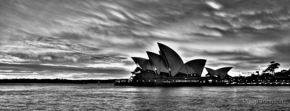 Shadow Aria - Sydney Opera House - The HDR Experience by Philip Johnson