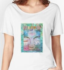 Peace Buddha Women's Relaxed Fit T-Shirt