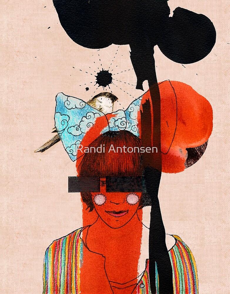girl with one eye by Randi Antonsen