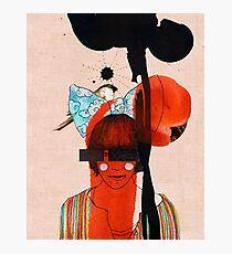girl with one eye Photographic Print