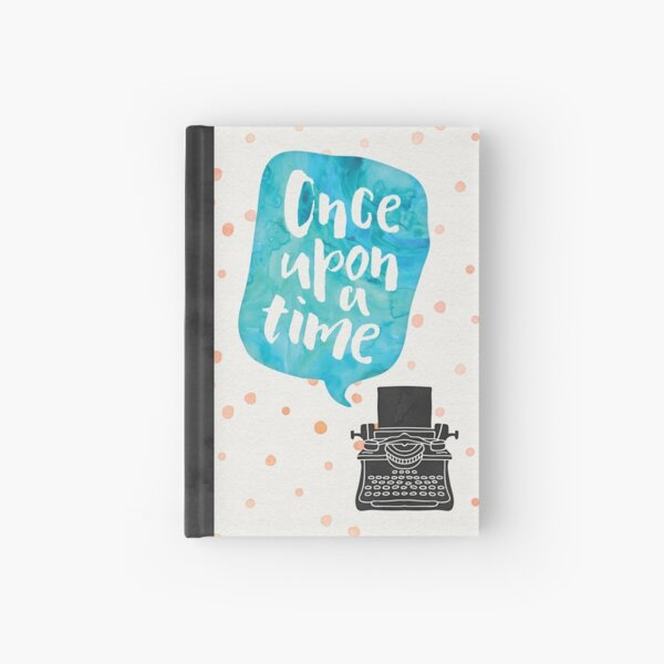 Once Upon A Typewriter Hardcover Journal