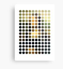 As Spots (Mona Lisa) Metal Print