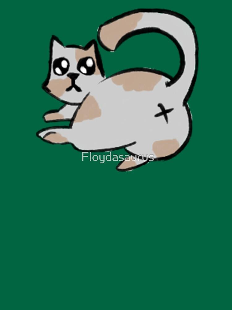 Funny Cat Butt by Floydasaurus