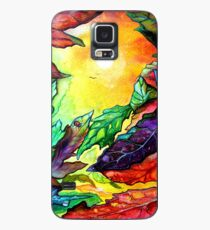 Colours of Sunshine - Leaves  Case/Skin for Samsung Galaxy
