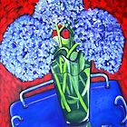 Blue on Blue by marlene veronique holdsworth