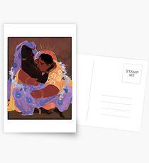 Von der Sonne geküsst Postkarten