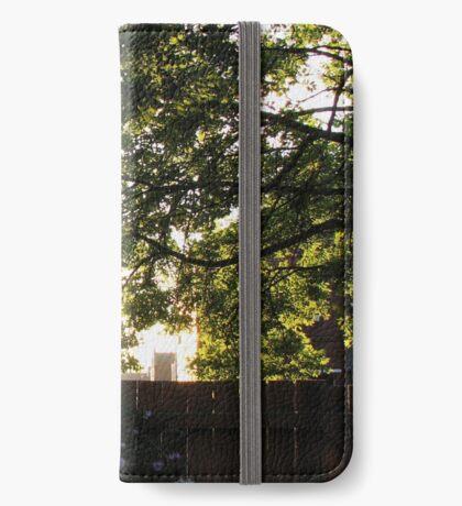 Sommer Sonnenaufgang iPhone Flip-Case