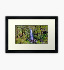 Falls through the Trees Framed Print