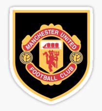 Manchester United Retro Sticker
