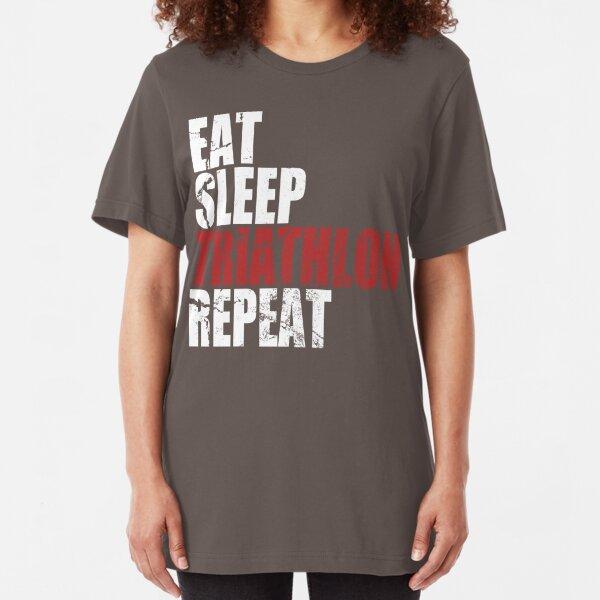 Eat Sleep Swim Repeat Mens Womens Tshirt Pool  tshirt Fast Gym Brand New Train