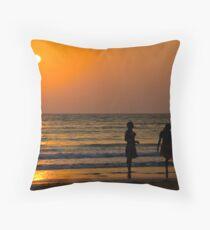 Goan sunset Throw Pillow