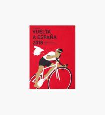 MY VUELTA A ESPANA MINIMAL POSTER 2018 Art Board