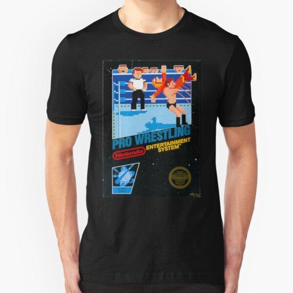NES PRO WRESTLING Slim Fit T-Shirt
