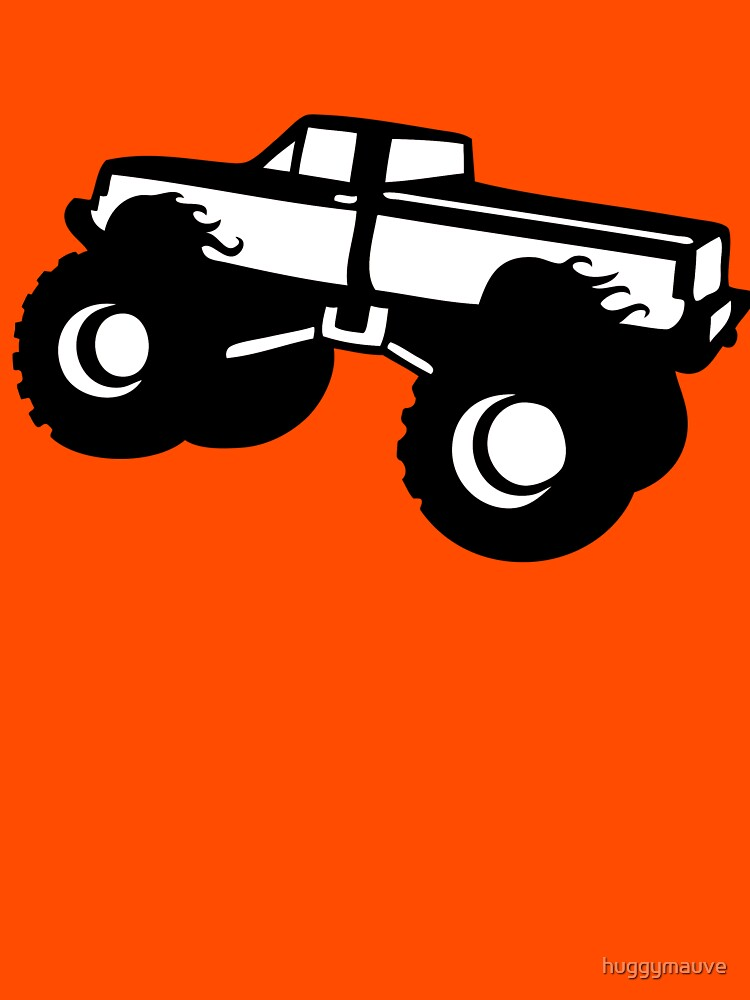 monster truck by huggymauve