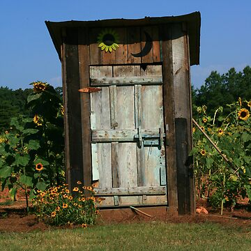 The Outhouse by sherryk