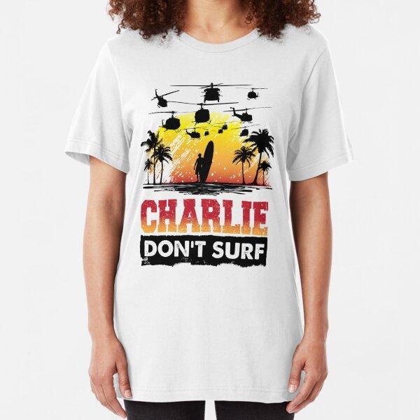 Charlie Don't Surf Slim Fit T-Shirt