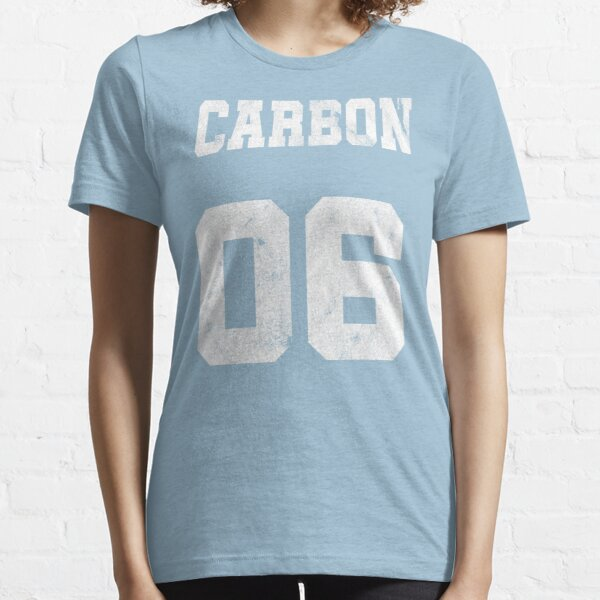 Element Carbon Chemistry Chemist T Shirt Funny Nerd Geek Design Atomic Number Periodic Table of the Elements Chemical formula Essential T-Shirt