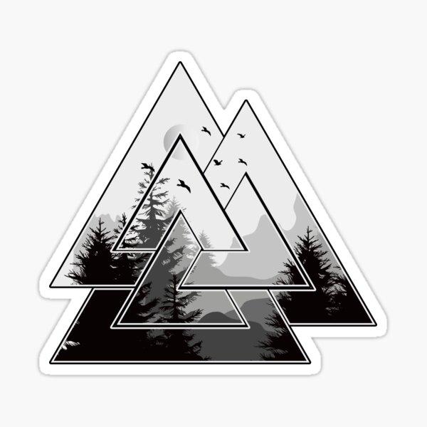 Valknut Symbol  Sticker