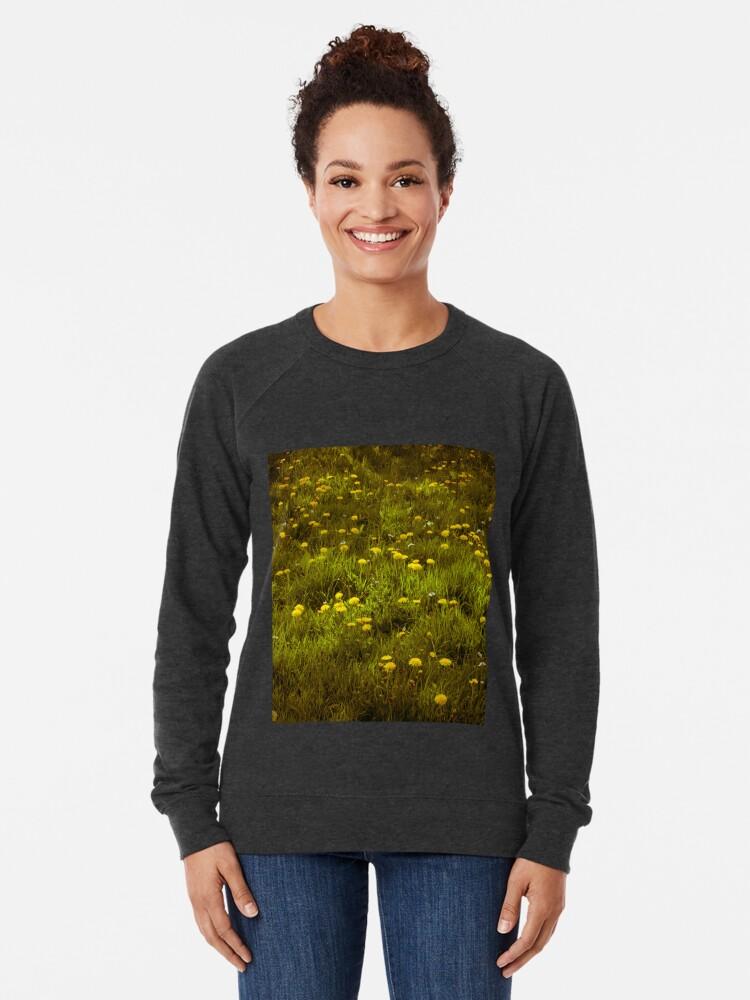 Alternate view of Dandelions Lightweight Sweatshirt