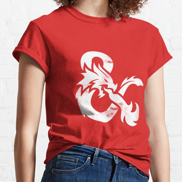 Dungeons and Dragons (White) Classic T-Shirt
