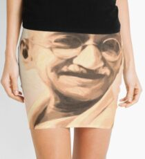 Ghandi Motivation Mini Skirt