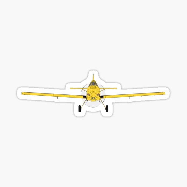 Air Tractor 802 - Agricultural Spray Plane Sticker