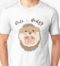Cute & Hedgy Unisex T-Shirt