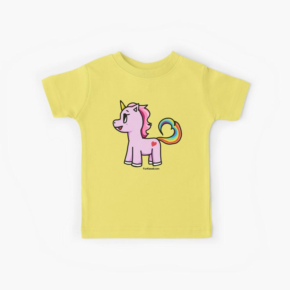 Cute Kawaii Unicorn  Kids T-Shirt