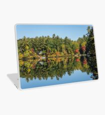 Reflecting On Cottage Life Up North  Laptop Skin