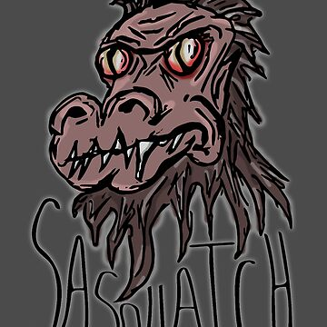 Sasquatch, The Scourge Of The Forest by mlubbe