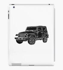 Jeep - Black iPad Case/Skin