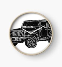 Jeep - Black Clock