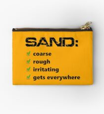 Sand: The Worst Studio Pouch