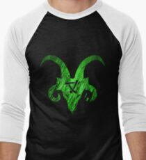 Horned Skaven grün Baseballshirt mit 3/4-Arm