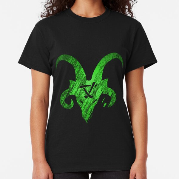 Horned Skaven green Classic T-Shirt