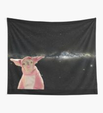 It's a lamb in space Wall Tapestry