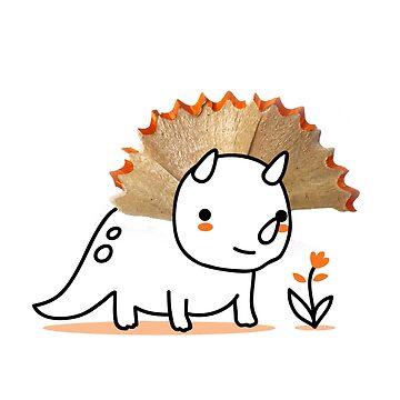 Tiny Triceratops by AndresColmenare