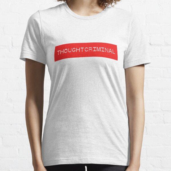 THOUGHTCRIMINAL ?  B Essential T-Shirt