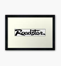 Mazda ROADSTER  /// MX-5 /// Miata Framed Print