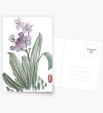 purple berries Postcards