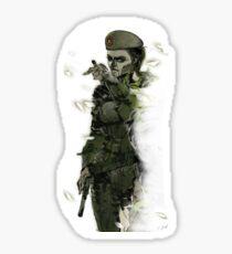 Caveira Rainbow 6 Metal Gear Solid Sticker