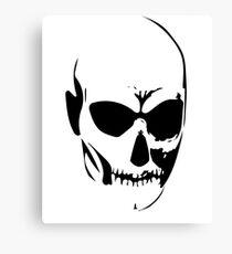 Skull, halloween Canvas Print