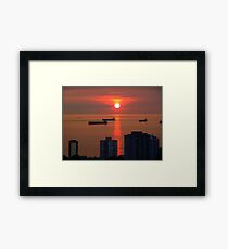 English Bay, Vancouver Framed Print