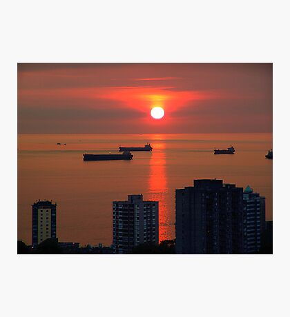 English Bay, Vancouver Photographic Print
