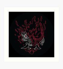 CyberDEMON Art Print