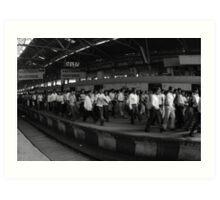 Mumbai shuffle Art Print