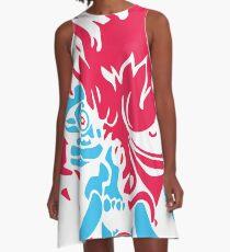 CyblueDEMON A-Line Dress