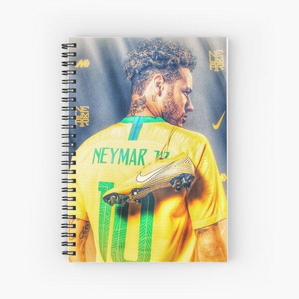 Neymar Golden Glow Cuaderno de espiral