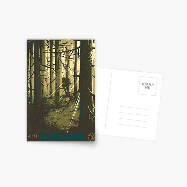 Visit Endor Postcard