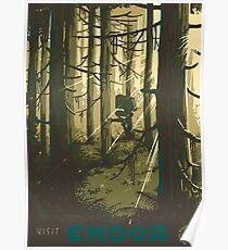 Besuche Endor Poster